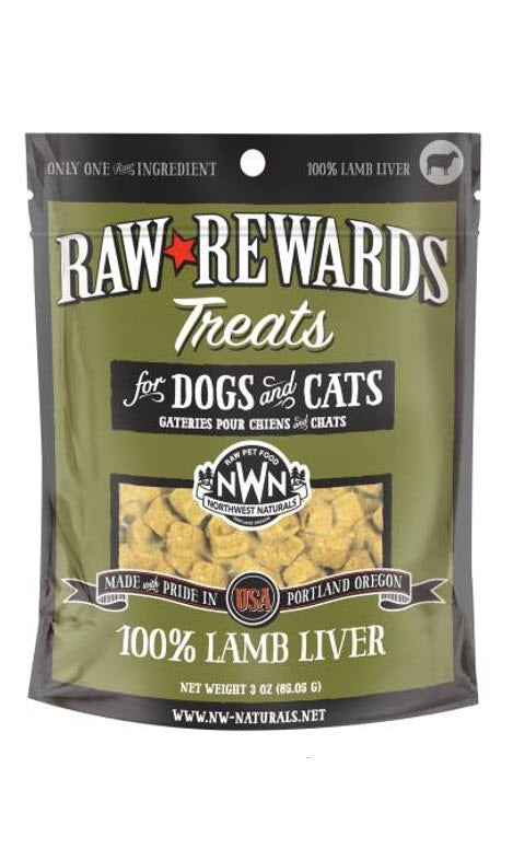 Northwest Freeze Dried Lamb Liver Dog Cat Treats