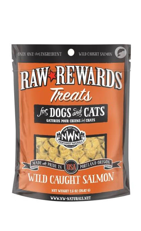 Northwest Freeze Dried Salmon Liver Dog Cat Treats