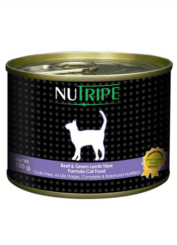Nutripe Classic Beef & Green Tripe Canned Cat Food