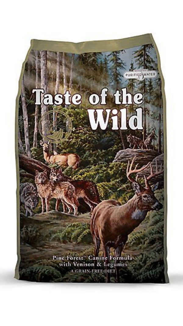 Taste of the Wild Pine Forest Venison Canine Dry Dog Food