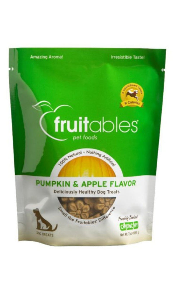 Fruitables Pumpkin And Apple Dog Treats