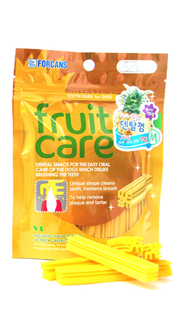 Forcans Fruit Care Pineapple Dental Chew