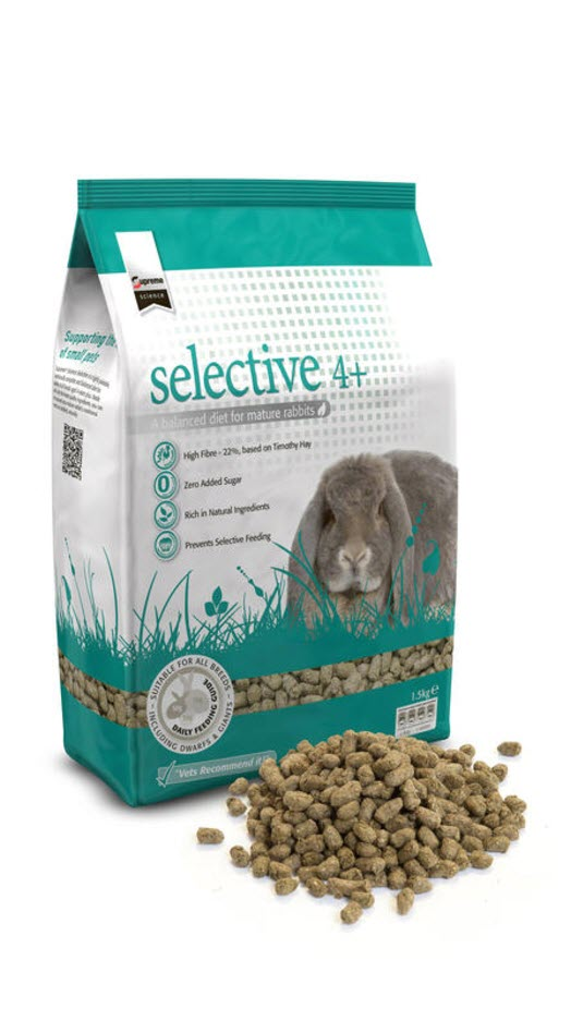 Supreme Science Selective Rabbit Mature 4 years+ Rabbit Food