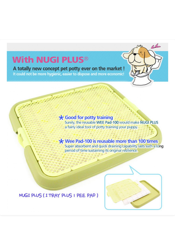 Nugi Plus Pee Tray With Pee Pad