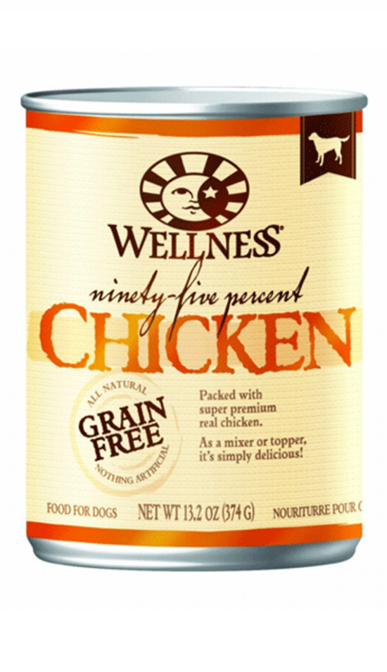 Wellness 95% Chicken Formula Canned Dog Food