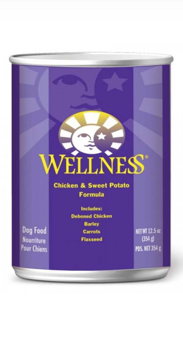 Wellness Complete Health Chicken and Sweet Potato Canned Dog Food