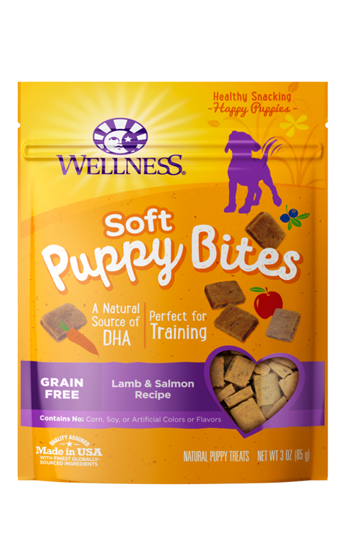 Wellness Wellbites Soft Puppy Lamb & Salmon Dog Treats