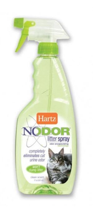 Hartz Nodor Litter Spray Scented
