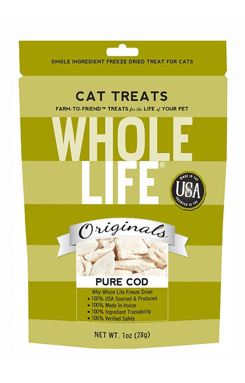 Whole Life Pure Atlantic Cod Filet Cat Treats