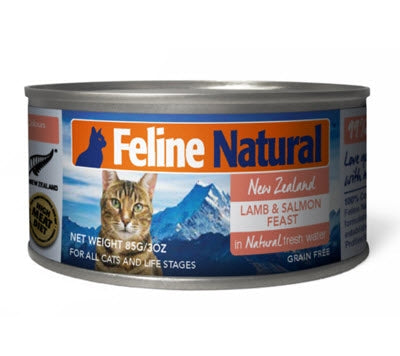 K9 Feline Natural Lamb and Salmon Canned Cat Food