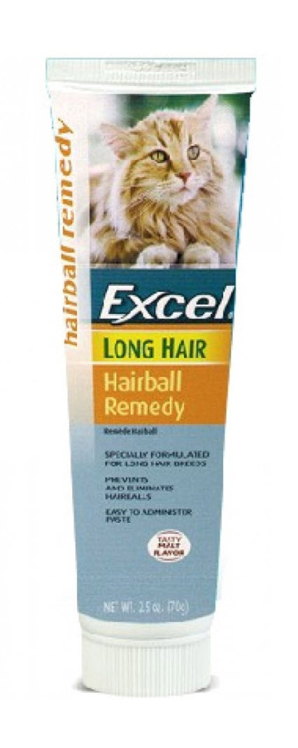 8in1 Excel Hairball Remedy Anti-Hairball Paste For Long Hair Cat