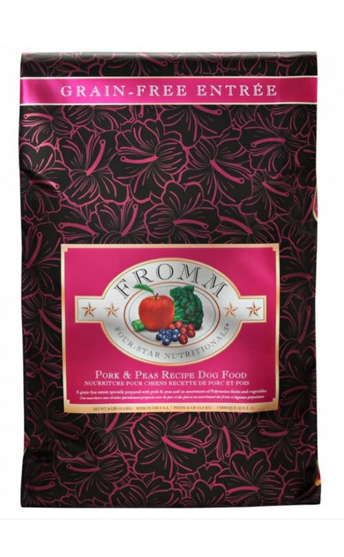 Fromm Pork & Peas Grain Free Dry Dog Food
