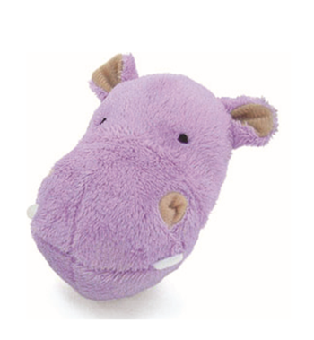 Petz Route S Hippo Dog Toy