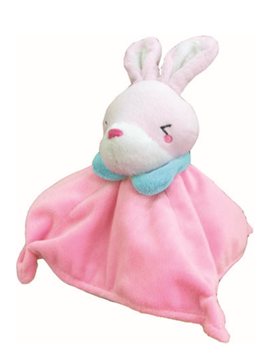 Petz Route Square Bells Rabbit Dog Toy