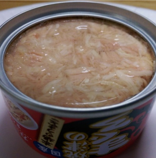 Aixia Yaizu No Maguro Tuna and Chicken with Crabstick Canned Cat Food