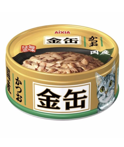 Aixia Kin-Can Mini Skipjack Tuna Canned Cat Food