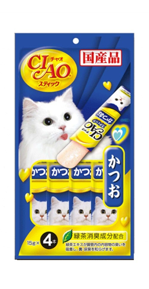 Ciao Churu Katsuo in Jelly Cat Treats
