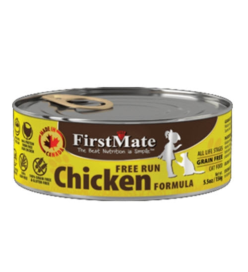 FirstMate Grain Free Chicken Canned Cat Food