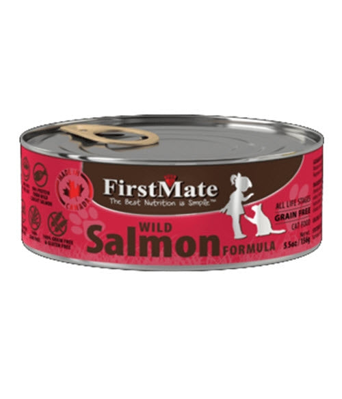 FirstMate Grain Free Salmon Canned Cat Food