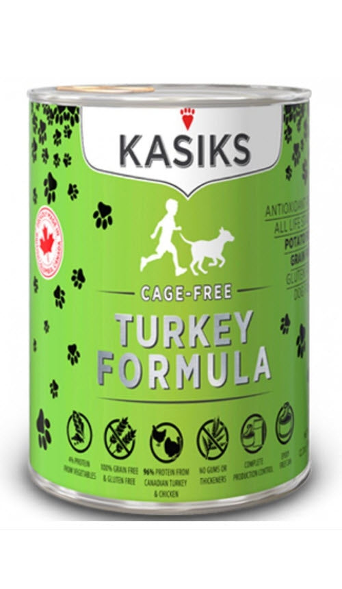 Kasiks Kasiks Cage-Free Turkey Grain Free Canned Dog Food