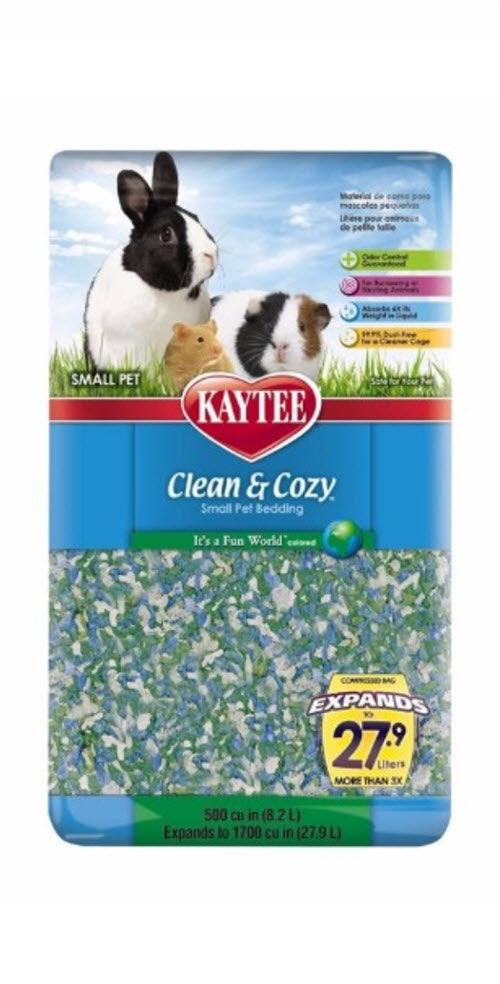 Kaytee Clean & Cozy Fun World Scent Bedding