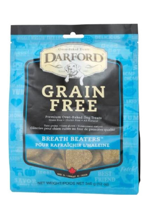 Darford Grain Free Breath Beaters Minis Dog Treats