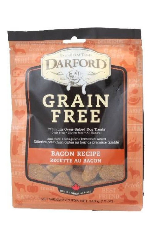 Darford Grain Free Bacon Minis Dog Treats