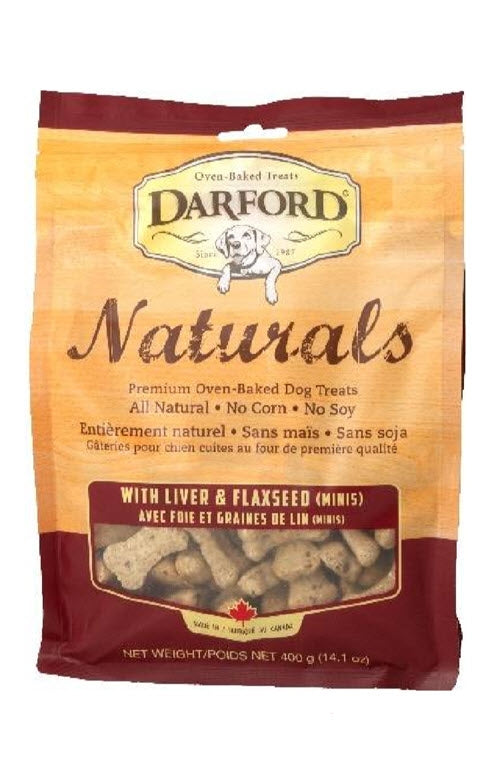 Darford Naturals Liver & Flaxseed Minis Dog Treats
