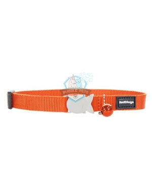 Red Dingo Classic Safety Collar in Orange