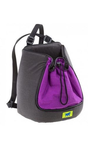 FerPlast Purple Rucksack Wool Mixed Dog Cat Carrier Bags