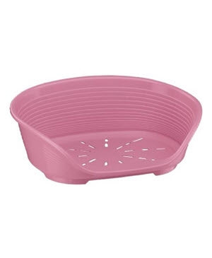 Ferplast Siesta Deluxe Pink Dog Cat Pet Bed