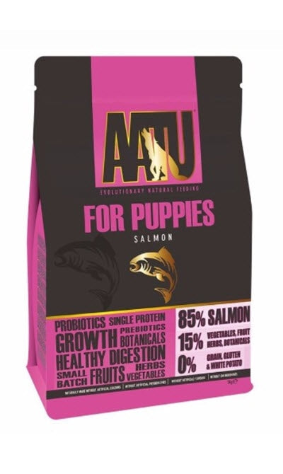 AATU Salmon for Puppies Dry Dog Food
