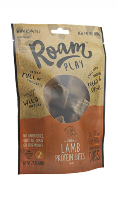Roam Lamb Protein Bites Dog Treats