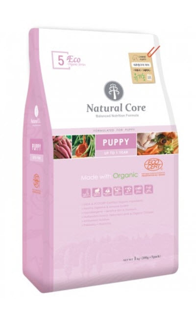 Natural Core Eco Organic Puppy Dry Dog Food