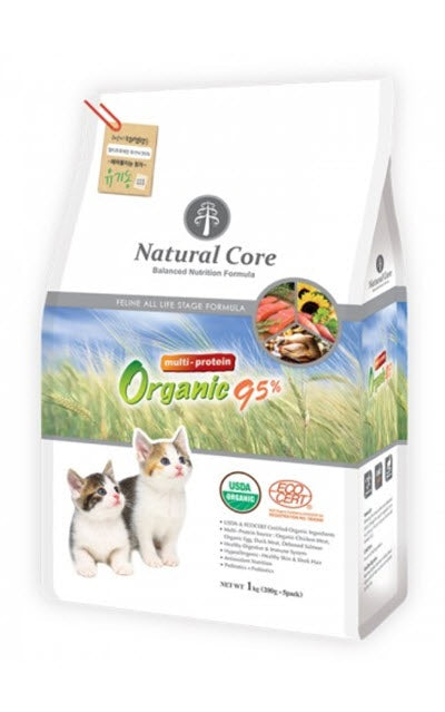 Natural Core Multi-Protein Organic 95% Dry Cat Food
