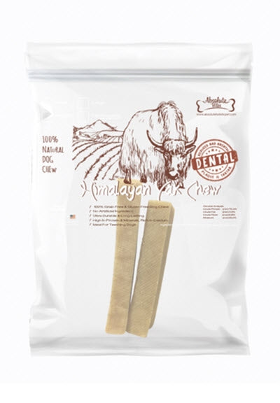 Absolute Bites Himalayan Dog Yak Chew (Medium)