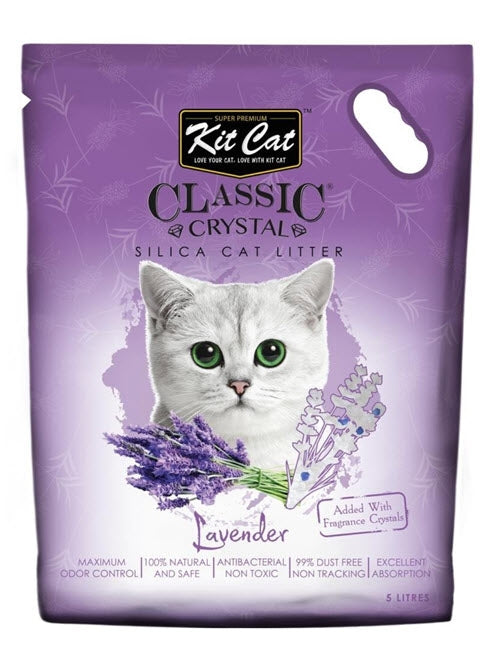 Kit Cat Classic Lavender Crystal Litter