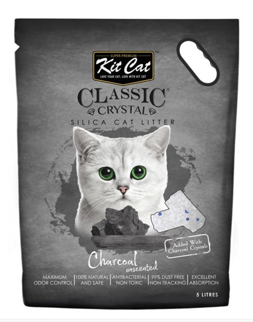 Kit Cat Classic Charcoal Crystal Litter
