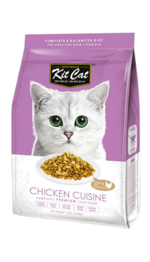 Kit Cat Chicken Cuisine Dry Cat Food
