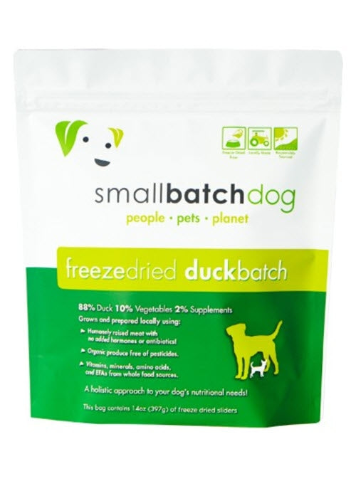 Smallbatch Duck Freeze Dried Sliders For Dogs