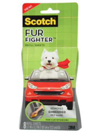 3M Fur Fighter Hair Remover for Car Interiors Refill