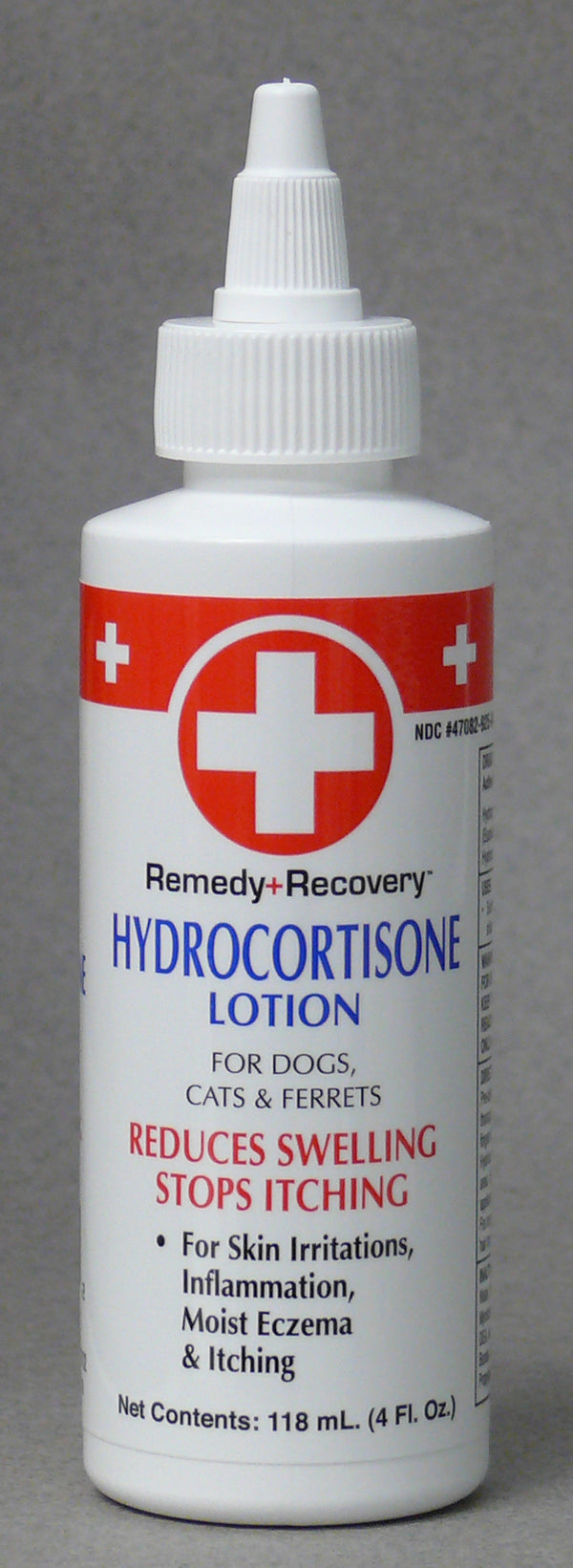 Cardinal Remedy + Recovery Hydrocortisone Lotion for Dogs Cats Pets