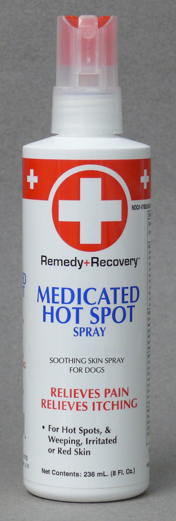 Cardinal Remedy + Recovery Medicated Hot Spot Spray for Dogs Cats Pets