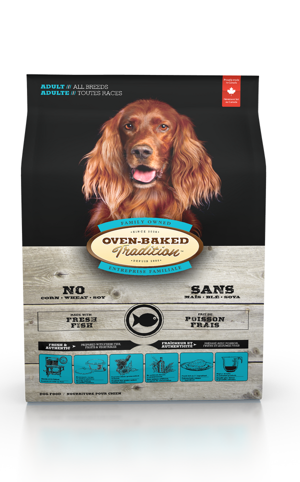 Oven Baked Tradition Adult Fish Dog Food