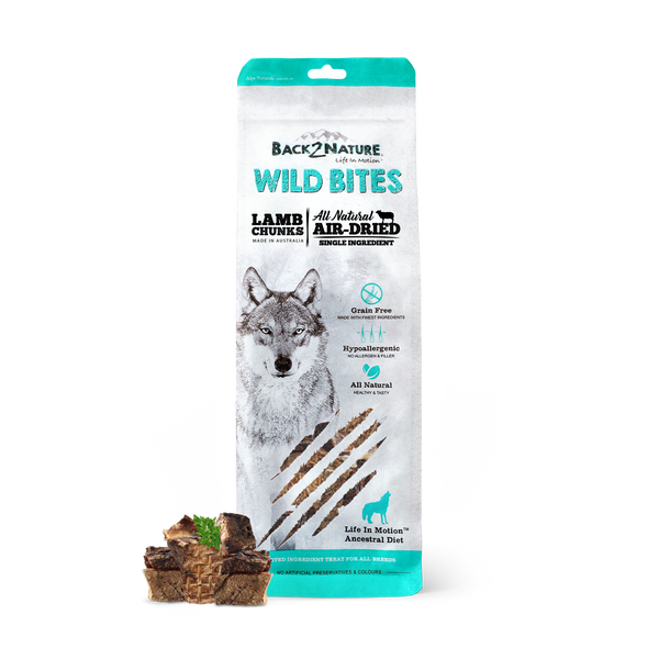 Back2NatureBites Lamb Chunks Chews