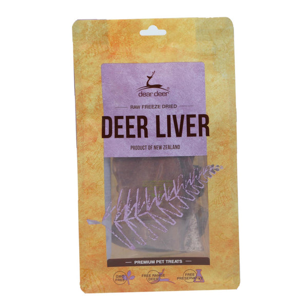 Dear Deer Liver Treats for Dogs