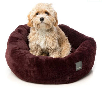 FuzzYard Eskimo (Merlot) Dog Bed