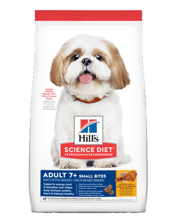 Hills Science Diet Mature Adult 7+ Small Bites Dry Dog Food