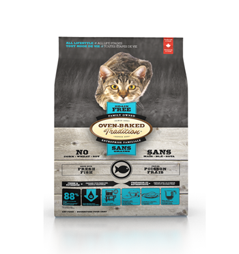 Oven-Baked Tradition Fish Grain Free Dry Cat Food