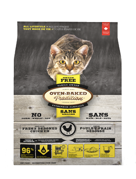 Oven-Baked Tradition Chicken Grain Free Dry Cat Food
